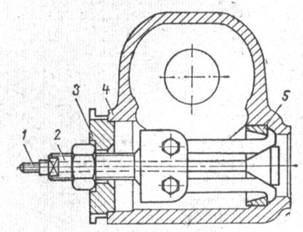 Схема установки съемника для