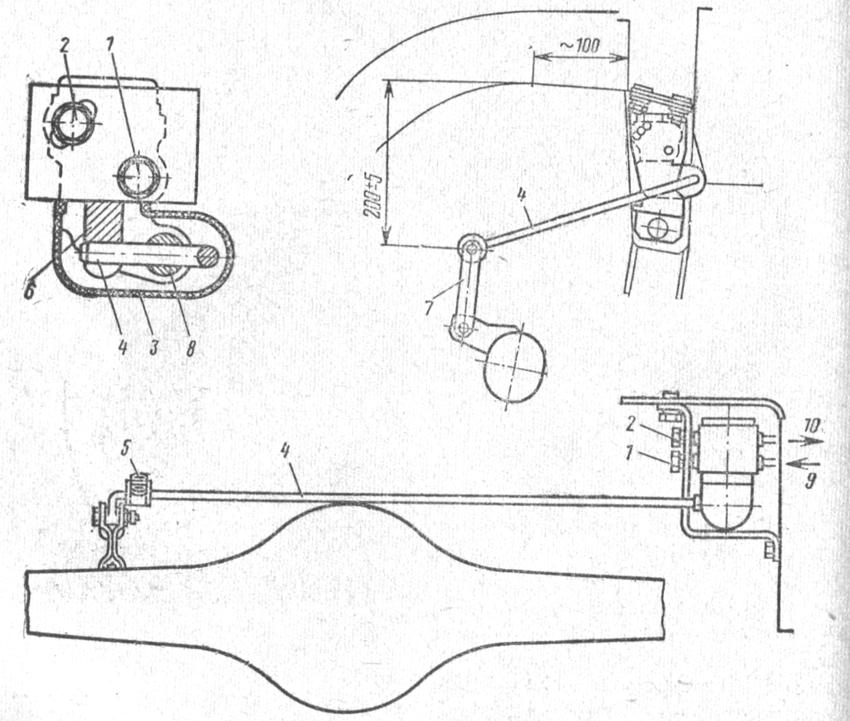 Схема регулятора давления тормозов фото 733