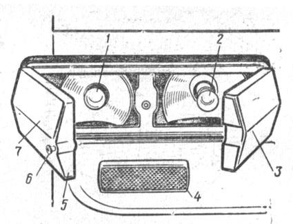 Задний фонарь ФП140 автомобиля