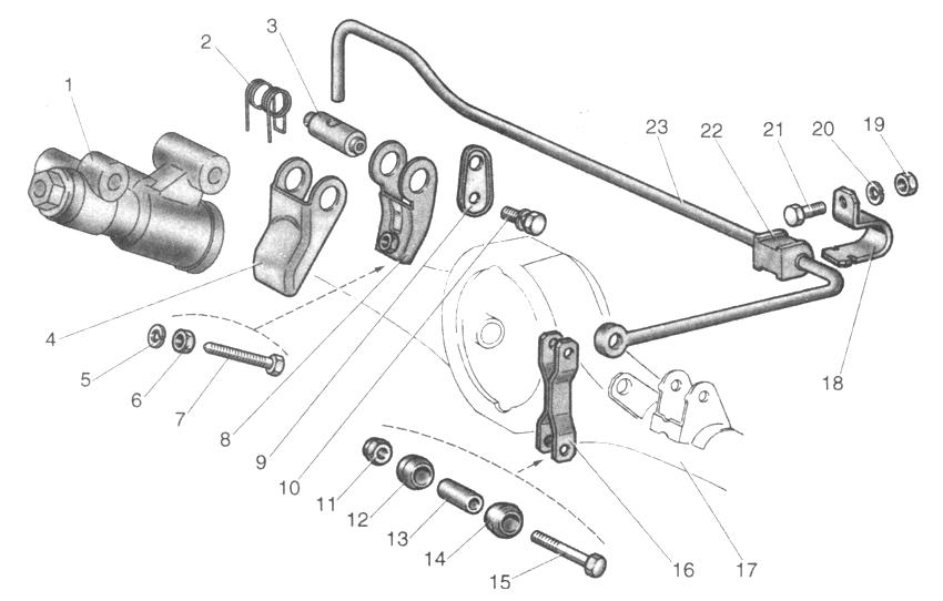 Схема проверки колесных
