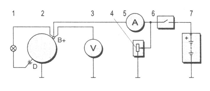 Схема соединений для проверки