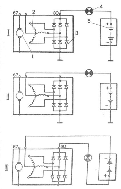 Схемы проверки вентилей