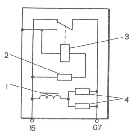 Электрическая схема регулятора