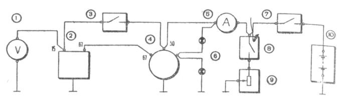 Схема для проверки на стенде