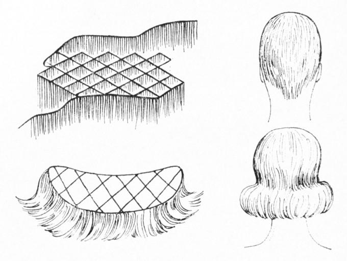 Изготовления шиньонов своими руками
