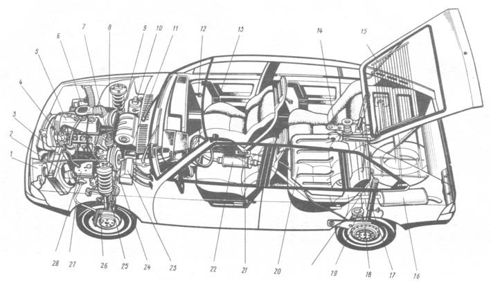 инструкция по эксплуатации москвич 2141 с двигателем узам 331