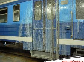 Причины загрязнения железнодорожных вагонов, очистка загрязнений