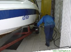 Как мыть корпуса лодок, яхт, мойка парусов, кубриков, моторных отсеков, палуб