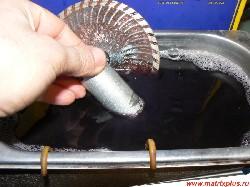 Токарному инструменту вторую жизнь, очистка режущих поверхностей