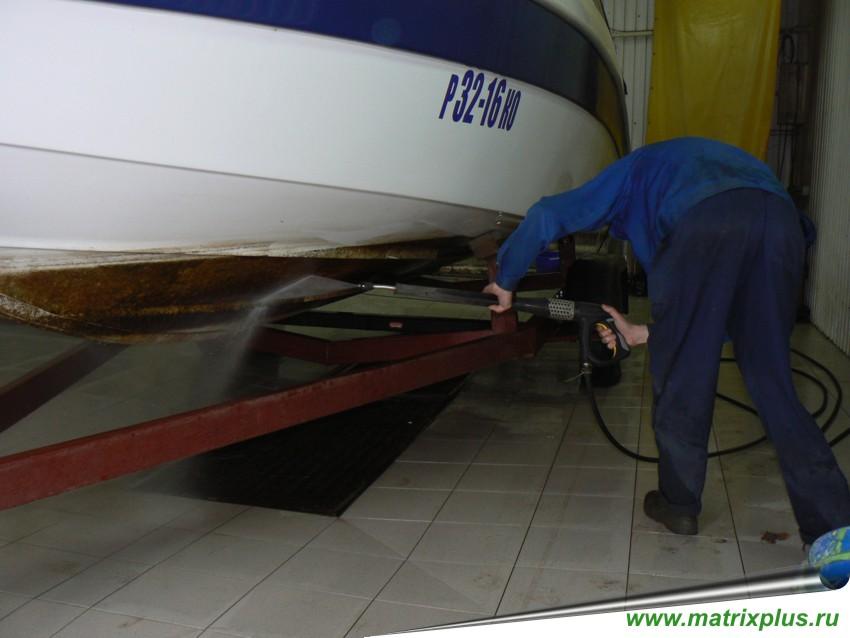 мойка для лодки