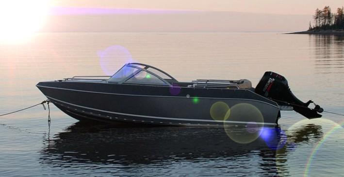 Моторные лодки сварные