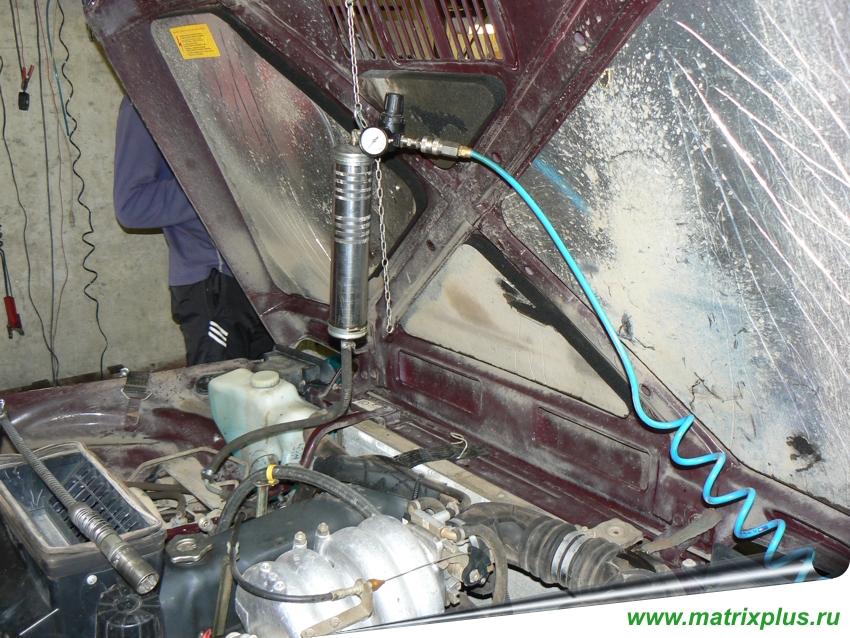 Как промыть инжектор и форсунки 140