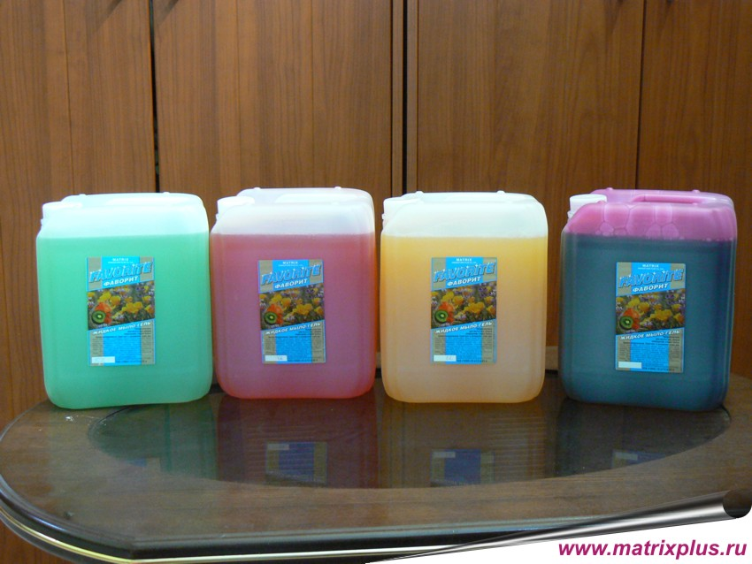 Купить жидкое мыло в пятилитровых канистрах