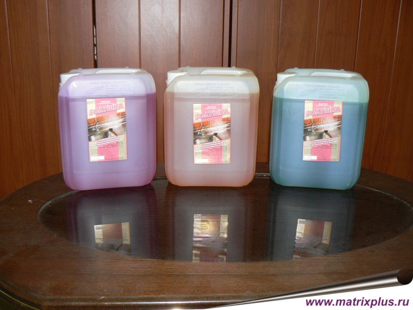 Купить средство для мытья посуды и посудомоечных машин
