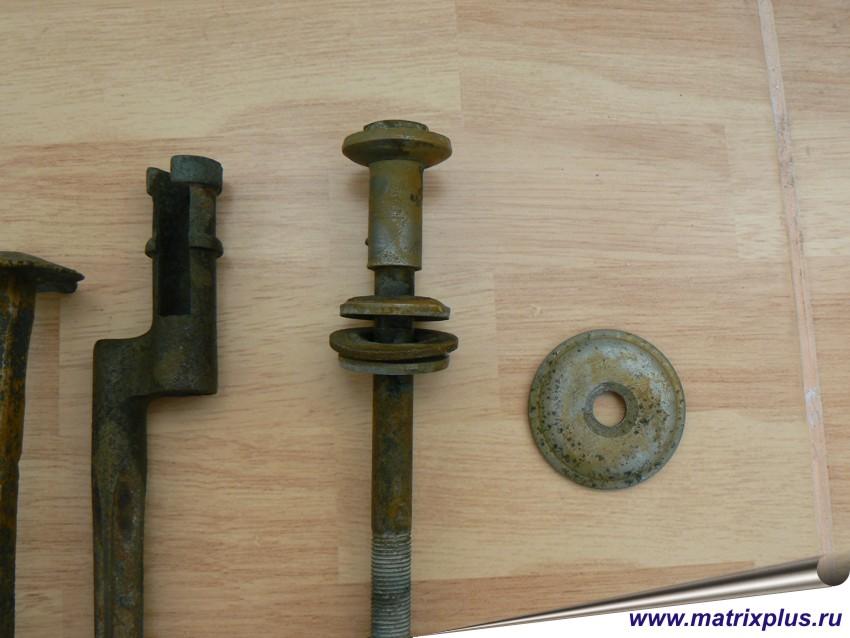 чистка железных старинных предметов