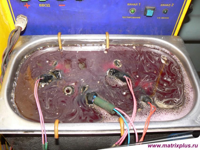 Ультразвуковая ванна своими руками для форсунок